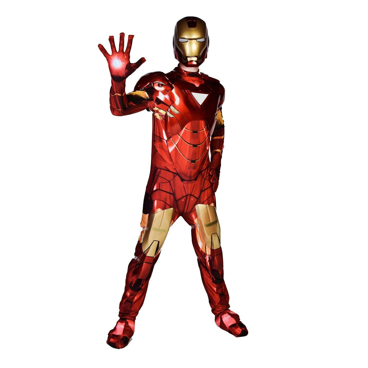 Аниматор супергерой Железный человек